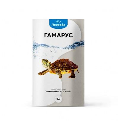 Корм для риб та черапах «Гамарус»