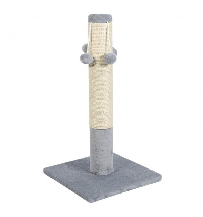 SCRATCHING POST with 4 balls ДО4