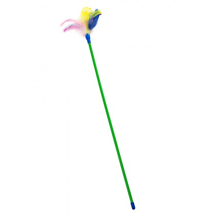 "Toy ""Wand with feathers"""
