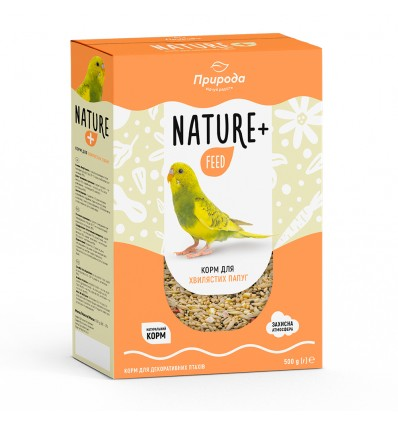 """Feed """"Nature + feed"""" for budgie"""