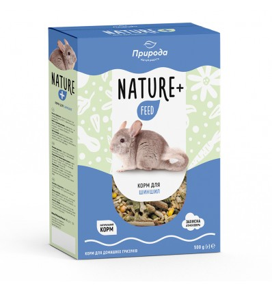 Корм Nature + feed для шиншилл