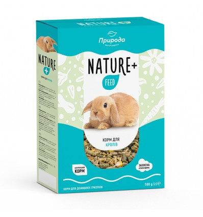 Feed Nature + feed for rabbits