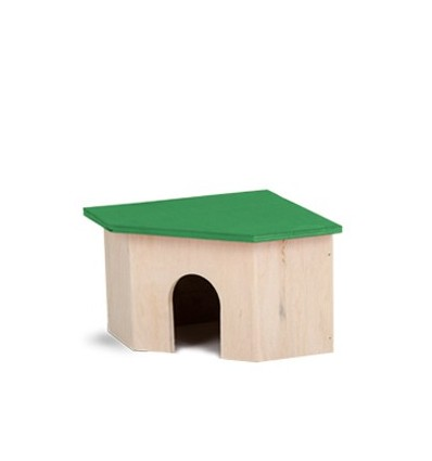 Corner house for rodents small
