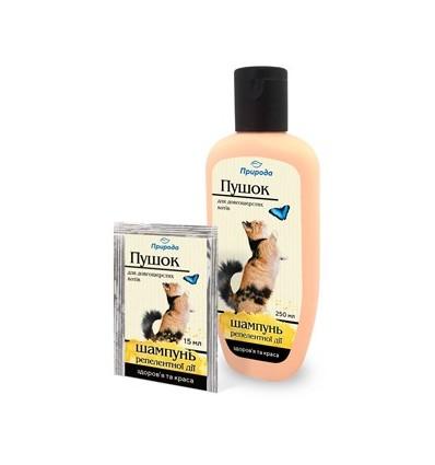 """Pushok"" Shampoo for long-hair cats"